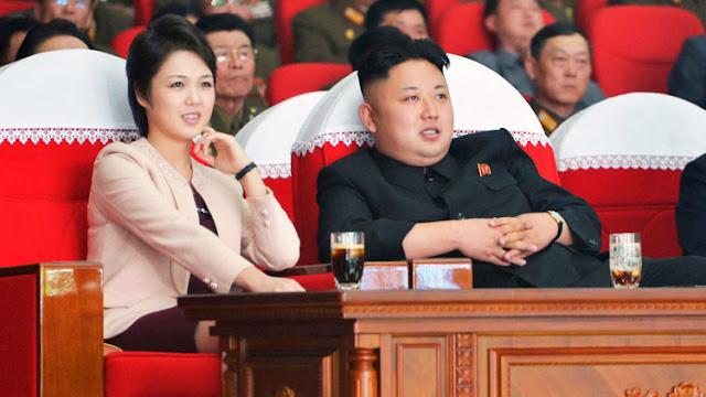 La esposa de Kim Jong-un reaparece en público después de varios meses