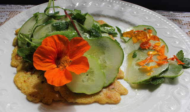 Gluten-free Organic Garbanzo chickpea pancake recipe