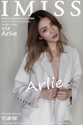 [IMiss爱蜜社] 2018.11.05 VOL.304 Arlie [45+1P126M]
