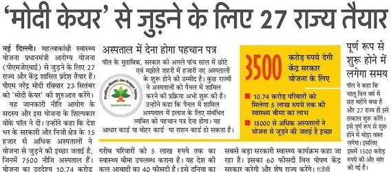 PM Jan Arogya Suchi List 2018-19 Name of Beneficiary