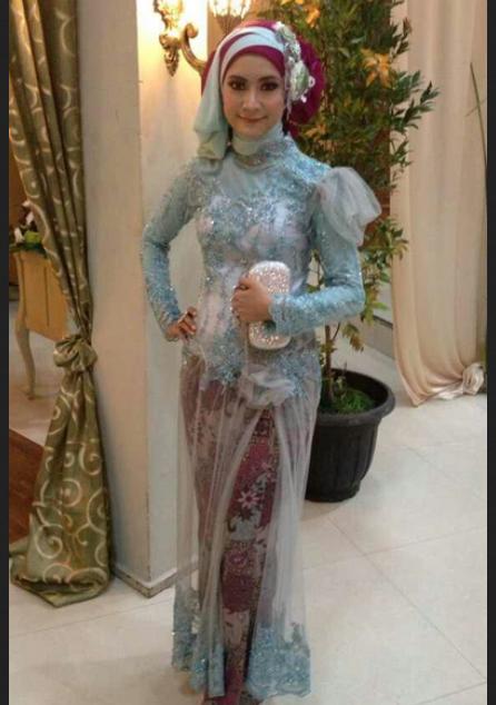 Contoh Model Kebaya Muslim Pesta