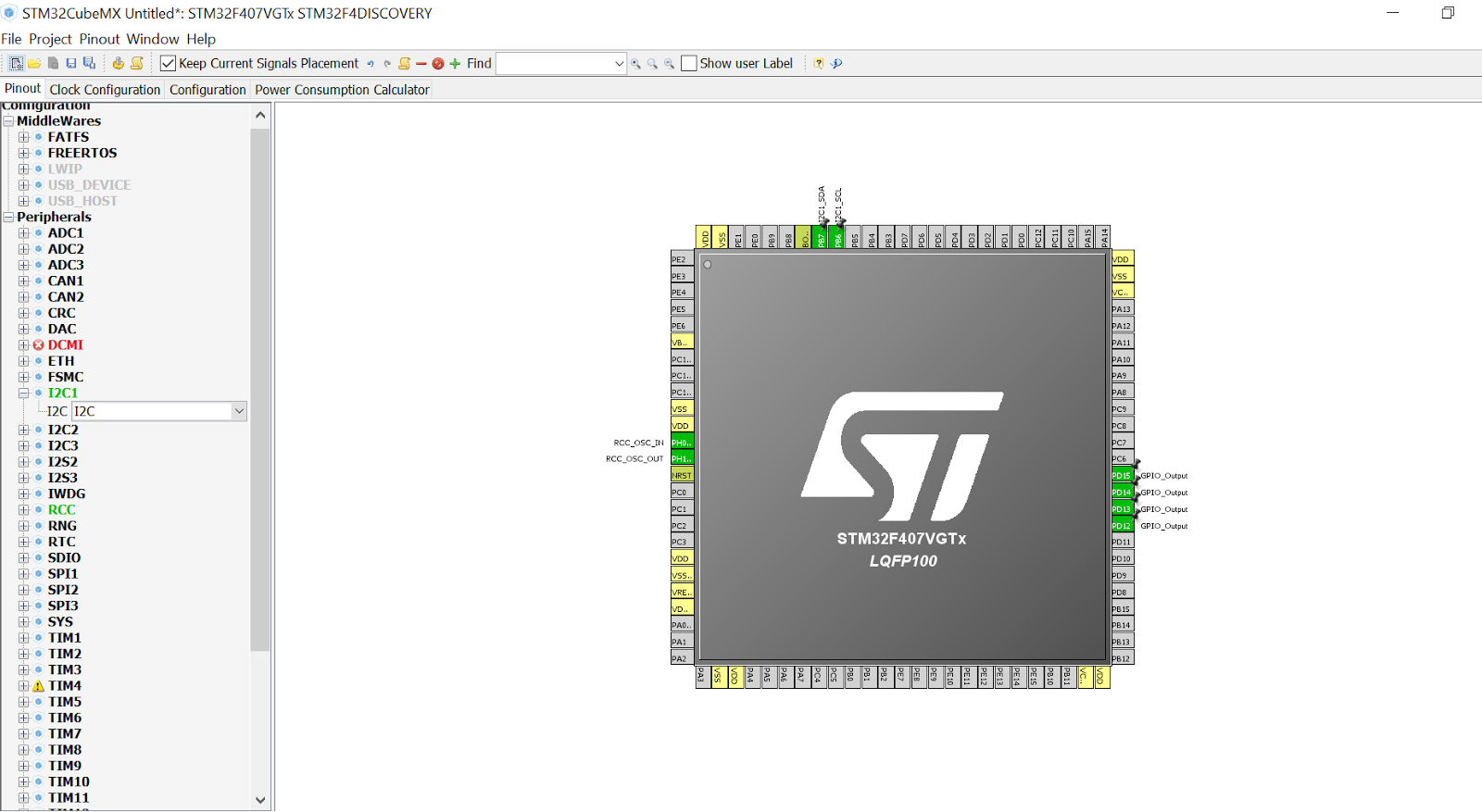 My STM32F4-Discovery: STM32F4-Discovery I2C with STM32CubeMX