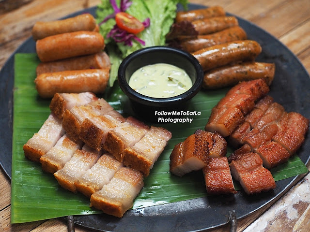 Grilled Hog's Platter  RM 40