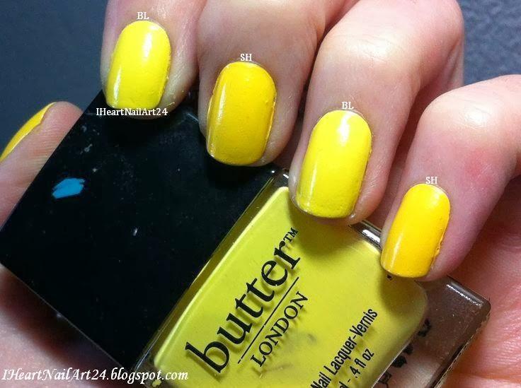 Butter London Cheeky Chops Dupe I Heart Nail Art