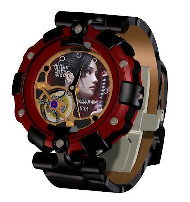 Arthur Oskar Stampfli Watch Limited Series Tourbillon Asia