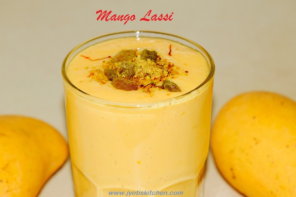 Mango Lassi Recipe with step by step photo