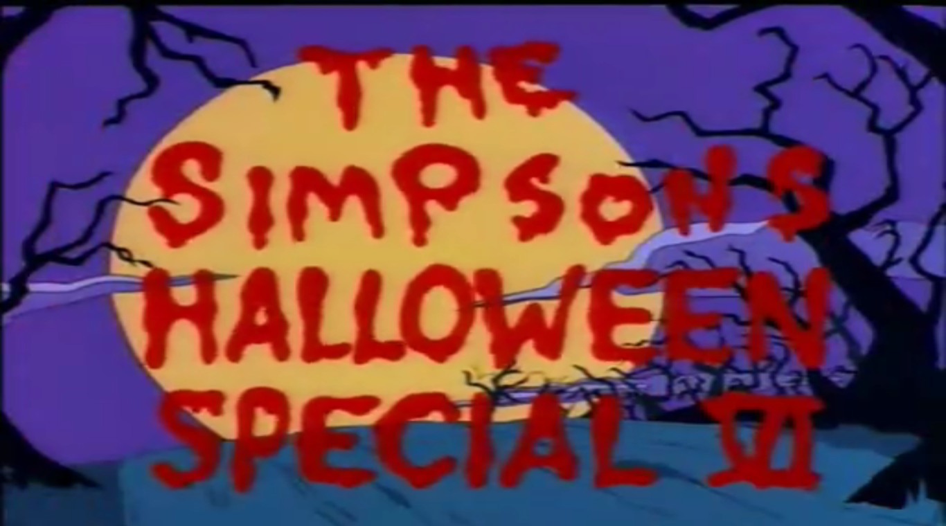 rare cinema online: the simpsons halloween specials (treehouse of