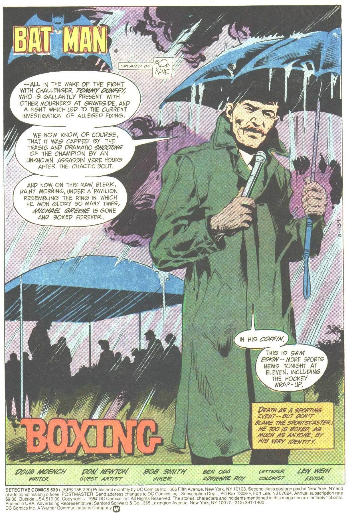 Detective Comics (1937) 539 Page 2