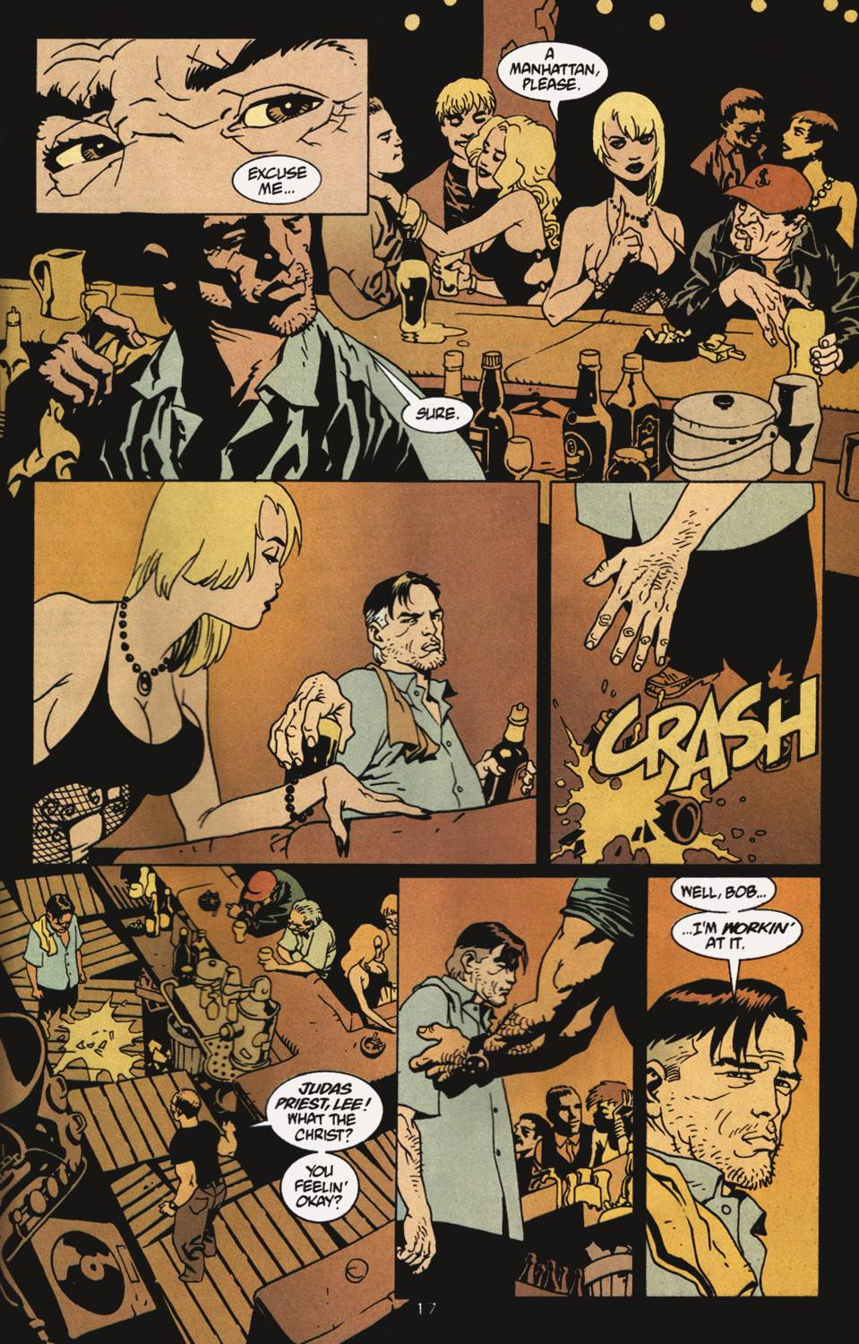 Read online 100 Bullets comic -  Issue #4 - 18