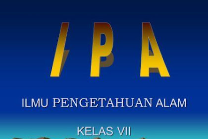 RPP IPA Kurikulum 2013 Revisi 2016 SMP Kelas VII