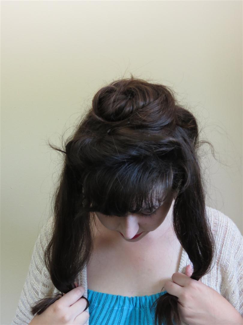 Gibson girl hair tutorial a more elaborate version black gibson girl hair tutorial a more elaborate version black spruce hound baditri Gallery