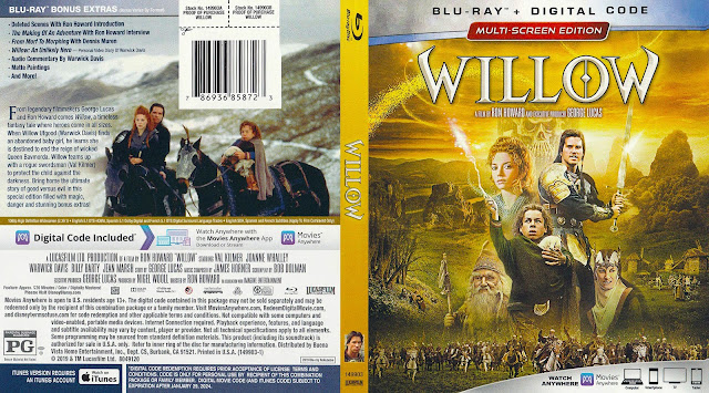 Willow Bluray Bluray Cover