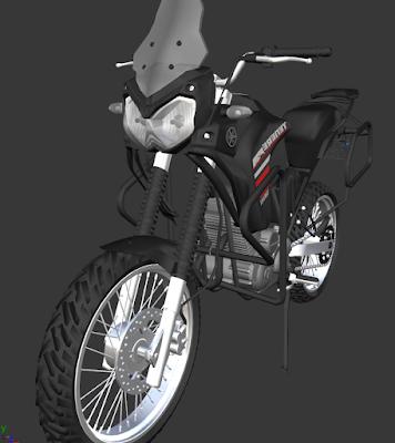GTA SA - TENERE 250 Favela