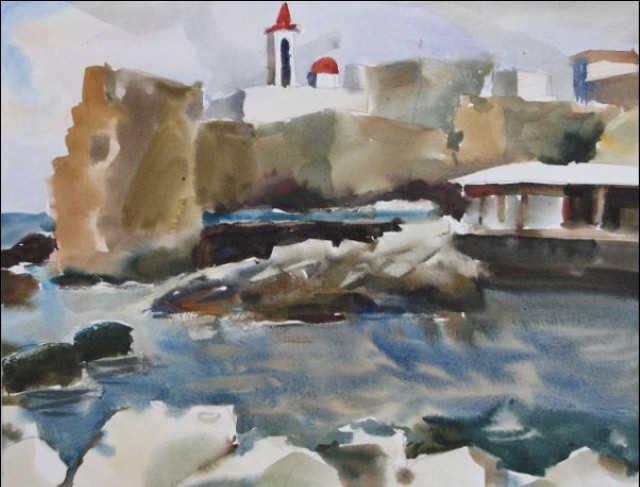Современное искусство Израиля. Борис Хенкин 18