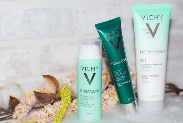 vichy - normaderm - imperfections