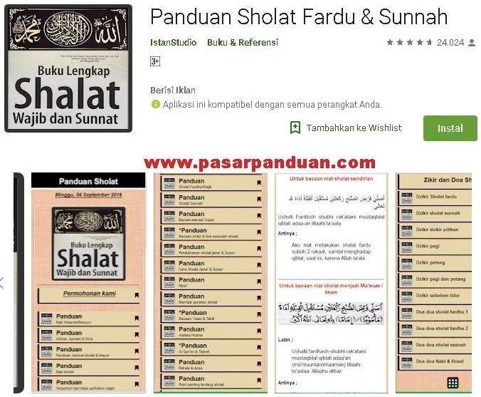 8 Aplikasi Bacaan Sholat Niat Doa Qunut Iftitah Surat