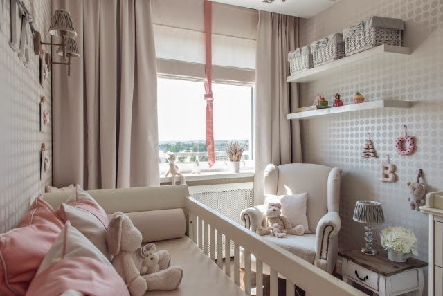 Dormitorio para beb ni a dormitorios colores y estilos - Dormitorios bebe nina ...