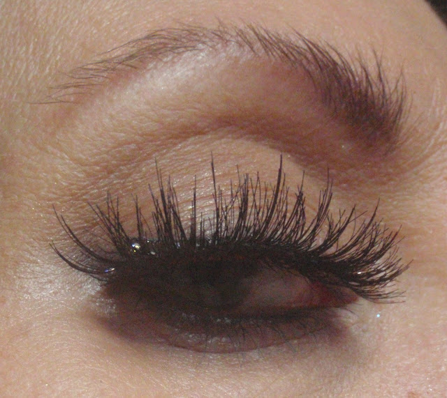 double layer of strip lashes