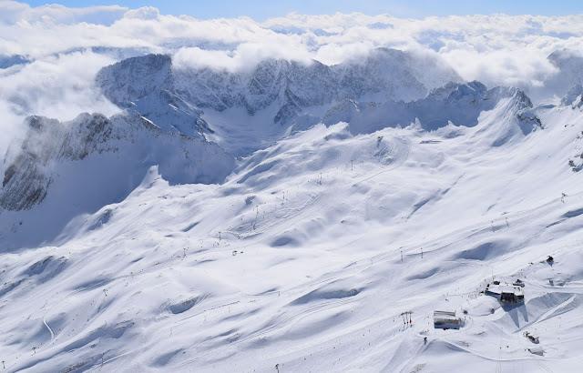 zugspitze, ski area