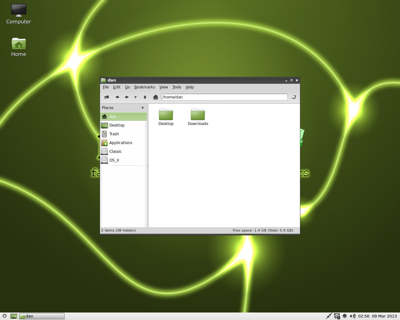 PPC Luddite: MintPPC 11 vs  Lubuntu 13 04 Shootout Deathmatch!