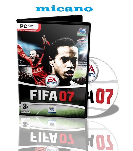 لعشاق فيفا 07 حصريا نسخة البورتابل من لعبة فيفا 2007  وعلى رابط مباشر  بحجم 755 ميجااا فقط !!!