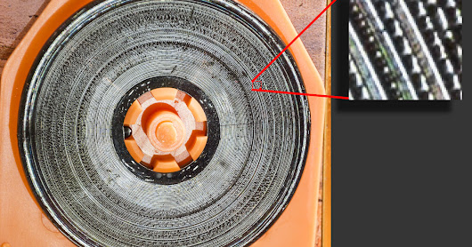 Gramophone audio from photograph, revisited