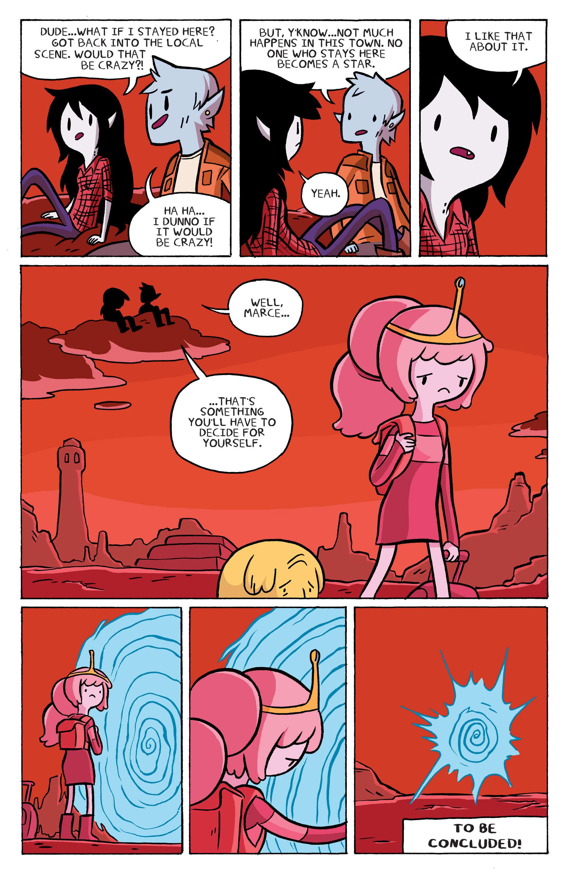 Read online Adventure Time: Marceline and the Scream Queens comic -  Issue #5 - 20
