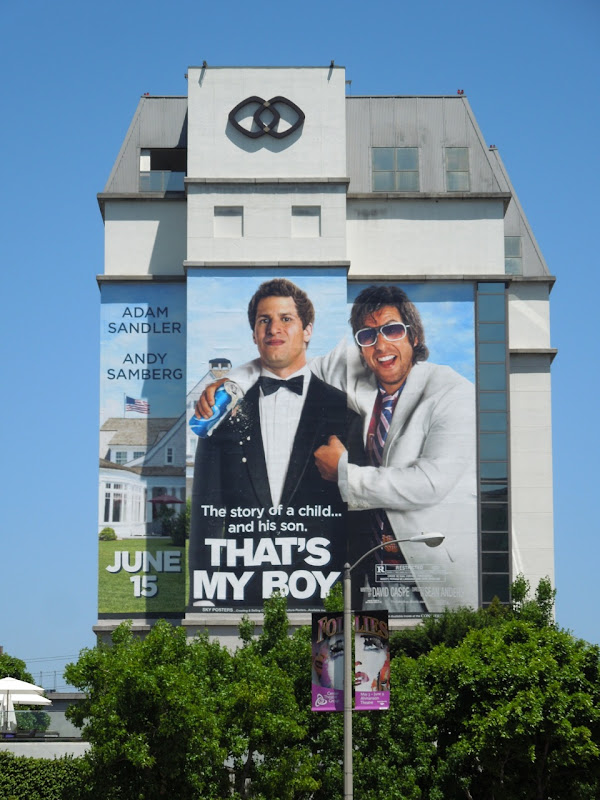 Giant Thats My Boy movie billboard