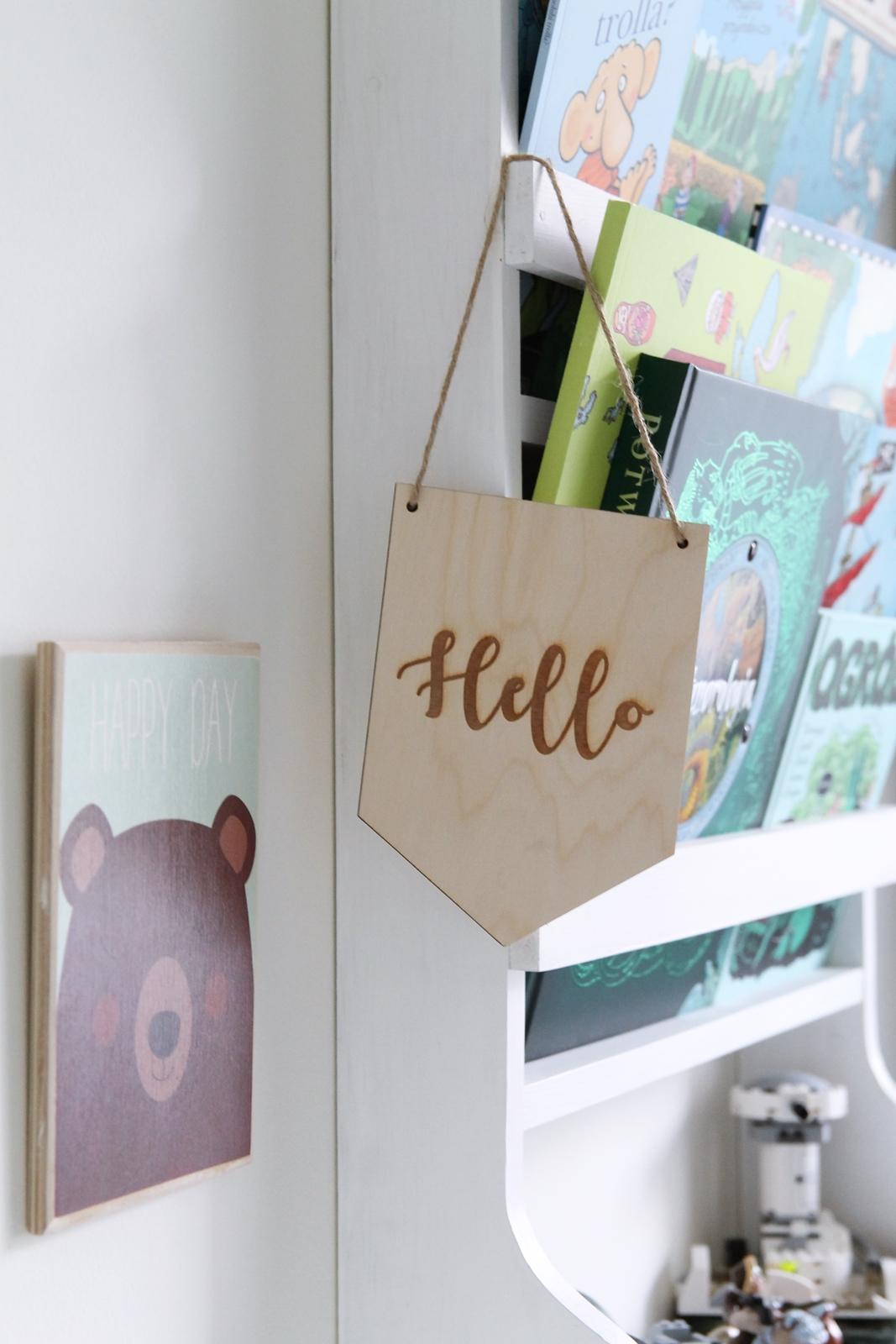 Tabliczka wisząca do pokoju dziecka