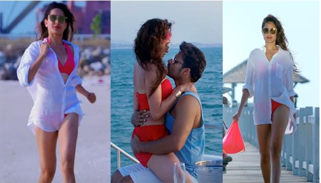 Pragya Jaiswal in Bikini for Nakshatram Movie
