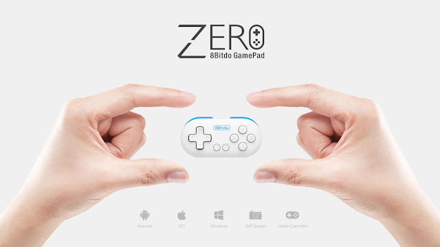 8Bitdo Zero Bluetooth Game Controller Gamepad