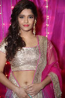 Ritika Sing in Golden Pink Choli Ghagra Cute Actress Ritika Sing ~  030.JPG