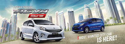 review toyota agya