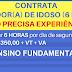 Clinica Geriátrica Contrata Cuidador (a) de Idoso