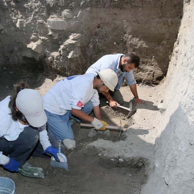 2,500-year-old Persian palace found in northern Turkey