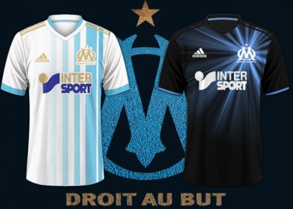 Camiseta Olympique de Marseille barata