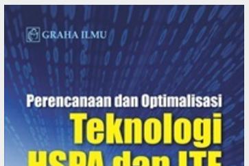 Jual Perencanaan dan Optimalisasi Teknologi HSPA dan LTE dalam Sistem Komun - DISTRIBUTOR BUKU YOGYA | Tokopedia