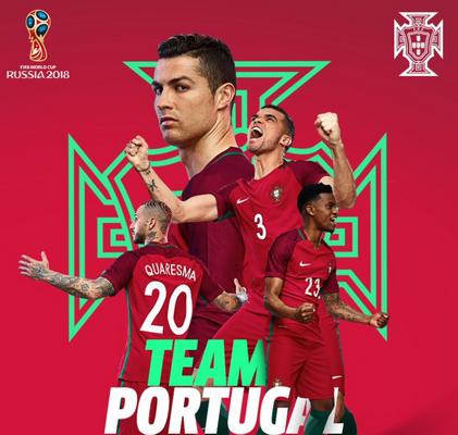 cdcbee941 Seguendo il look fortemente modellato di Euro 2016, la maglia della Coppa  del Mondo 2018 del Portogallo combina una base rossa con loghi dorati e  alcuni ...
