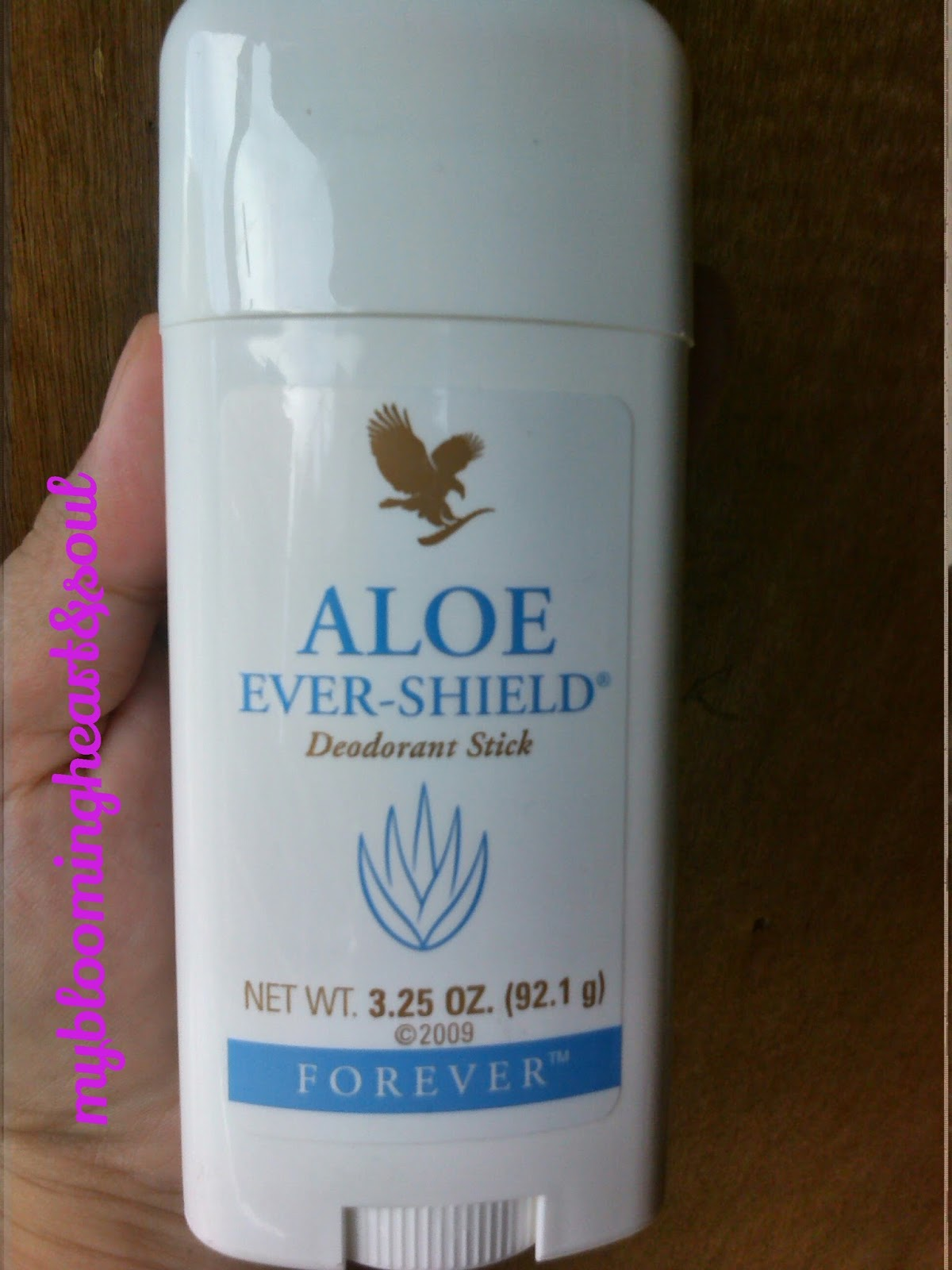 Review Aloe Ever Shield Deodorant Stick My Blooming