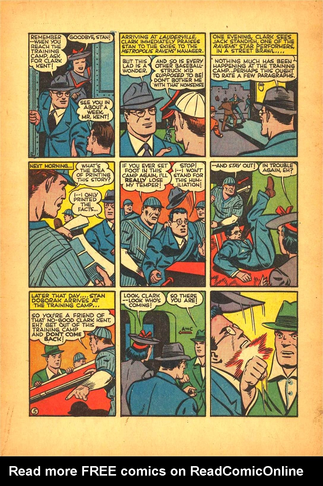 Read online Action Comics (1938) comic -  Issue #50 - 7