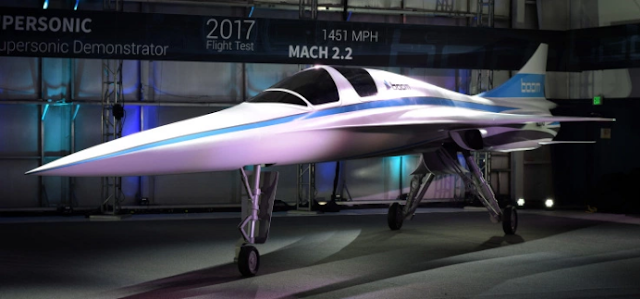 Boom Supersonic to build the fastest airplane for passenger flight