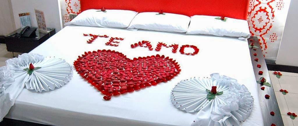 Decoraci n de habitaciones para san valent n 2 for Cuartos decorados para una noche de amor