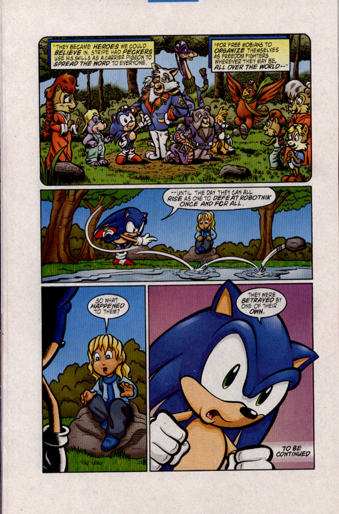 Read online Sonic The Hedgehog comic -  Issue #142 - 13