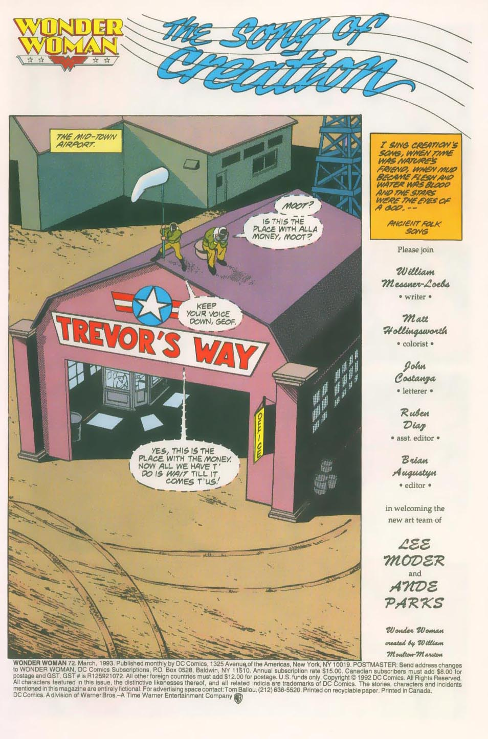 Read online Wonder Woman (1987) comic -  Issue #72 - 3