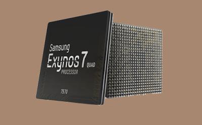 أعلنت سامسونج عن المعالج Exynos 7570 يعمل من خلال تقنية نانومترا