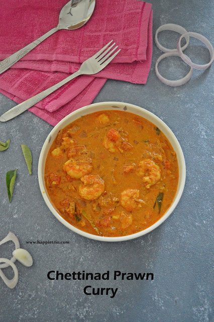 Chettinad Prawn Curry Recipe | Chettinad Iral Kuzhambu