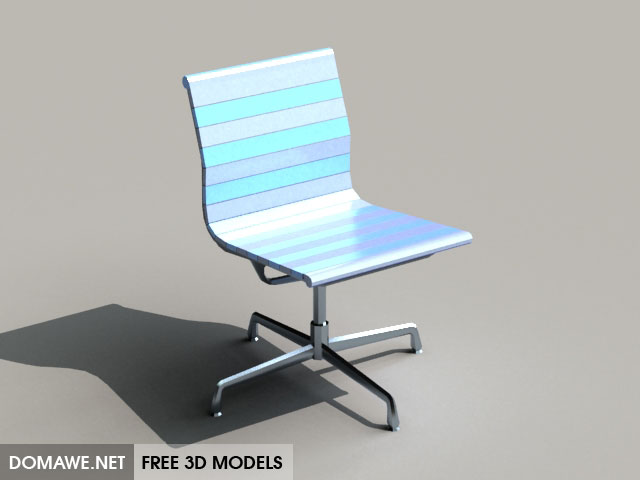 DOMAWE net: Vitra Chairs 3D Model Free Download - 1