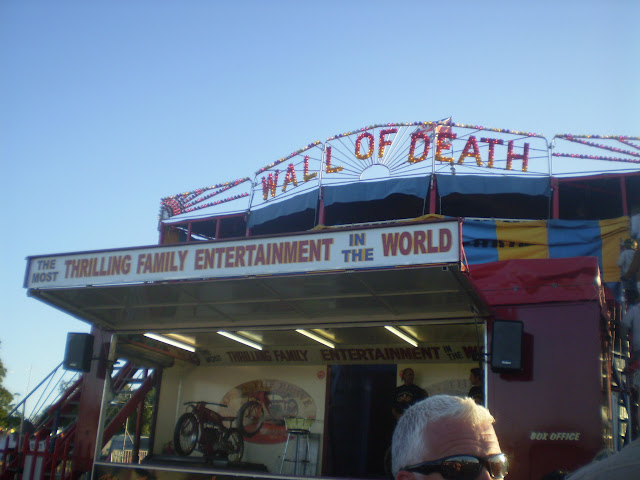 wall of death at camp bestival