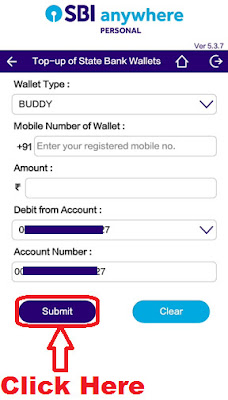 how to add money in sbi buddy Wallet Step by step