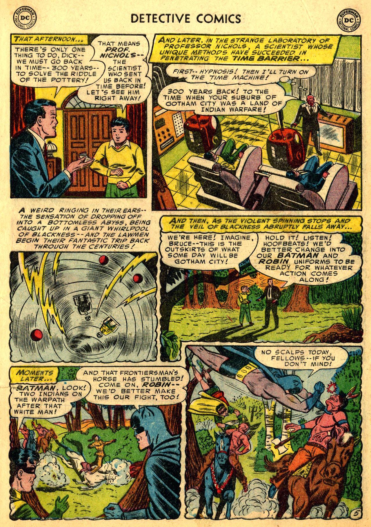 Detective Comics (1937) 205 Page 6